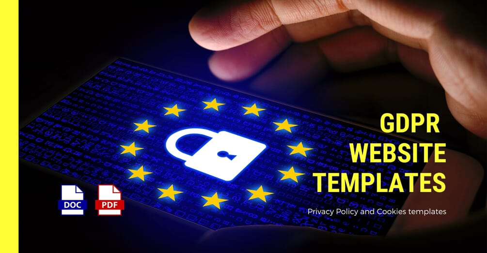 GDPR Privacy Policy Templates